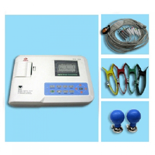 ECG-300G Three Channel Digital electrocardiograph ECG/EKG Medical Equipment