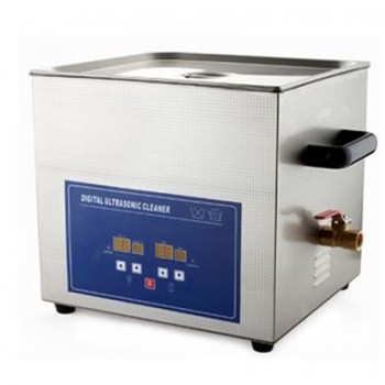 JeKen® PS-60A Ultrasonic Cleaner with Timer & Heater 15L