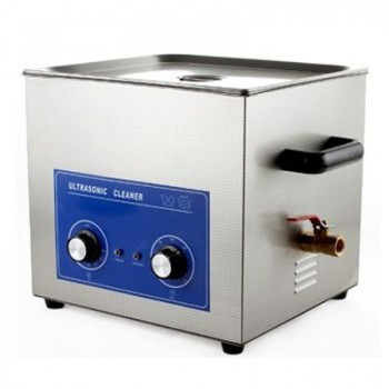 JeKen® PS-60 Ultrasonic Cleaner with Timer & Heater 15L