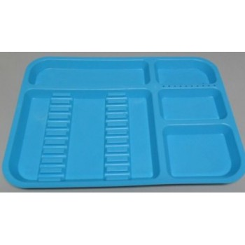 Blue Dental Instrument Tray