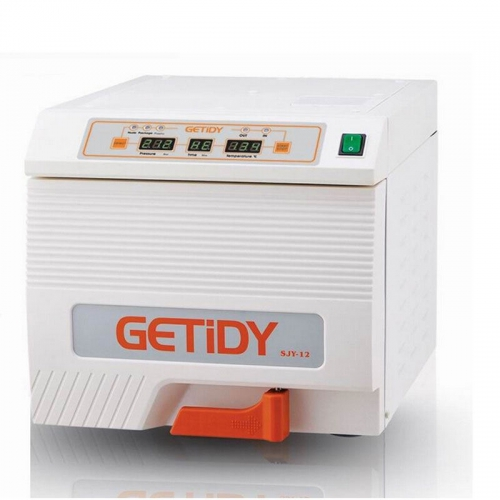 Getidy® GT-D-12S Dental Medical Equipment Autoclave Sterilizer 12L