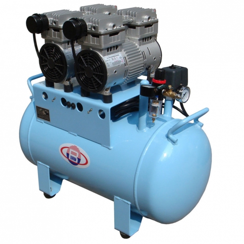 Best®BD-202 60L Dental Air Compressor Noiseless Oilless 300L/min