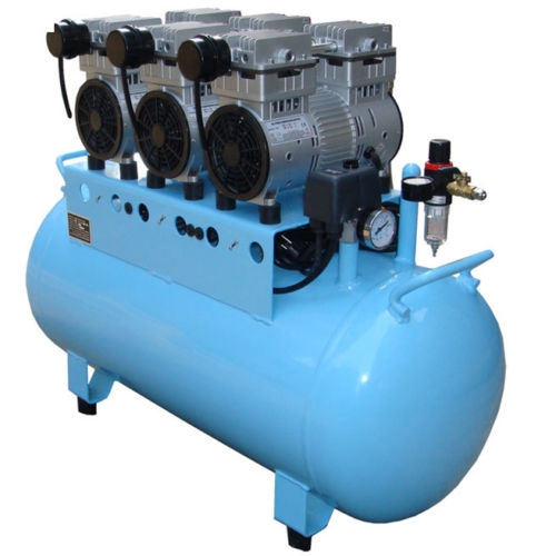 Best®BD-203 90L Dental Air Compressor Noiseless Oilless 450L/min