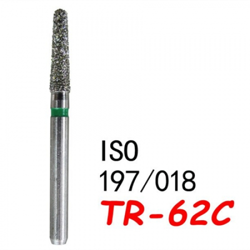 FG TR-62C 100PCS Diam Diamond Burs 1.6mm