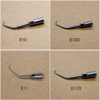 4pcs WOODPECKER® Endodontic Scaler Tips EMS compatible
