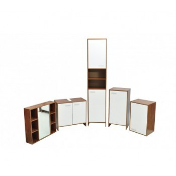 5 Piece Bathroom Cabinet Furniture Set Home Use/ Clinic