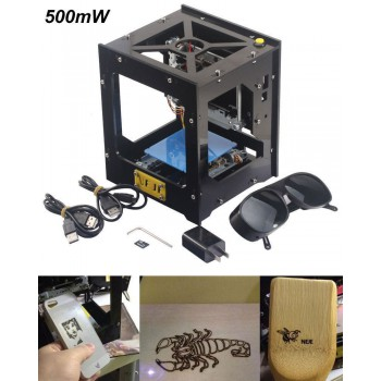 NEJE DIY 500mW USB Laser Printer Engraver Cutter Laser Engraving Cutting Machine