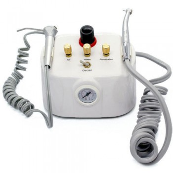 NEW Portable Dental Turbine Unit 2/4Hole with 3-way Syringe