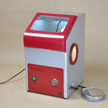 Dental Recyclable Sandblaster Machine Lab Equipment Dust Free AX-P3