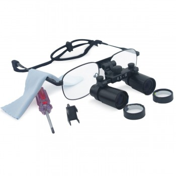 Dental Surgical 4 X 360-460mm Loupes Medical Binocular Glasses Dentist Magnifier