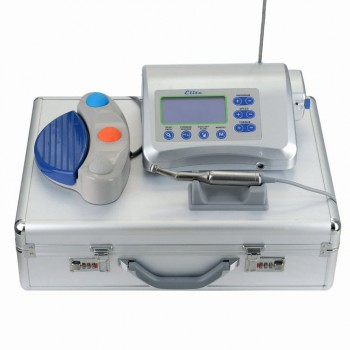Victory® Elite V-DIM-I Dental LCD Brushless Surgical Drill Motor Implant Machine System +Handpiece+Foot Control