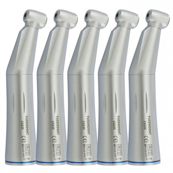 5Pcs COXO YUSENDENT Dental 1:1 Inner Water Low Speed Contra Angle Handpiece NSK