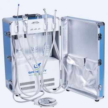 Greeloy® GU-P204 Dental Portable Turbine Unit