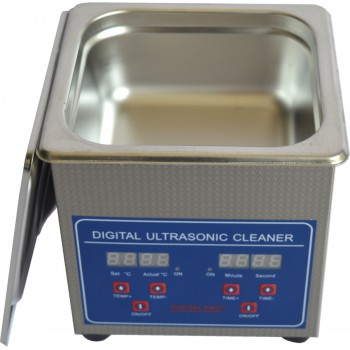 1.3L Digital Control LCD Stainless Steel Ultrasonic Cleaning Machine JPS-08A New