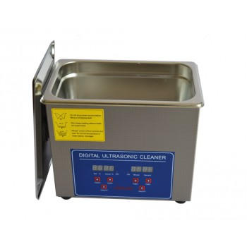 3L Tank Capacity Stainless Ultrasonic Cleaner with Cleaning Basket 110V/220V