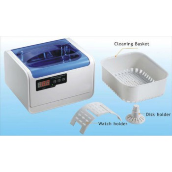 1.4L Jeken Dental Mini Digital Ultrasonic Cleaner CE-6200A with Cleaning Basket