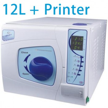 Sun® SUN-II-D 12L Autoclave Sterilizer Vacuum Steam with Printer