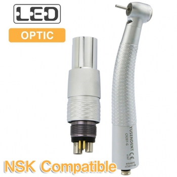 YUSENDENT® CX207-GN-PQ Fiber Optic Handpiece With NSK Roto Quick Coupler