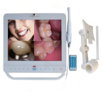 15 Inch Wired Dental Monitor Intra Oral Camera System VGA+VIDEO port With LCD  h...