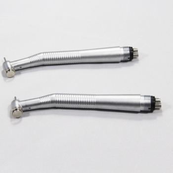 2×NSK Type High Speed Push Handpiece + Low Speed Latch Handpiece Kit 2/4 Holes