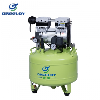 Greeloy® Dental Oilless Air Compressor  GA-81 One By Two