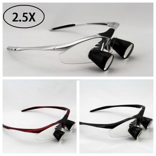 2.5X Dental Loupe Binocular Medical Surgical Magnifying Glass TTL series