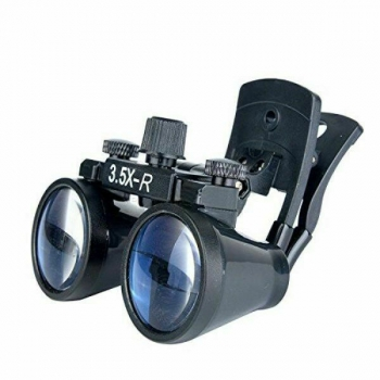 2.5X/3.5X-420mm Clip-On Dental Optical Glass Surgical Binocular Loupe Magnifier