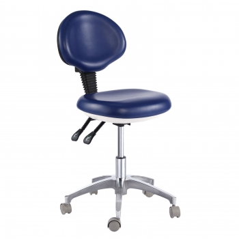 PU Leather Medical Dental Dentist's Chair Doctor's Stool QY500-2 Mobile Chair
