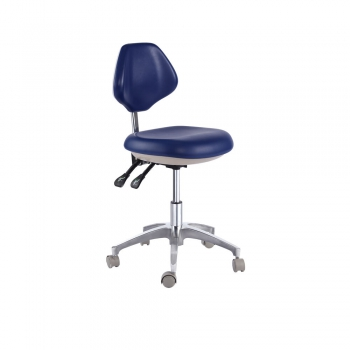 PU Leather Medical Dental Mobile Chair Doctor's Stools Office Stool
