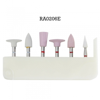 6 Pcs/Kit Dental High Gloss Polishing Kit For Zirconia RA0206E