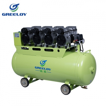 Greeloy® GA-84X Dental Oilless Air Compressor with Silent Cabinet