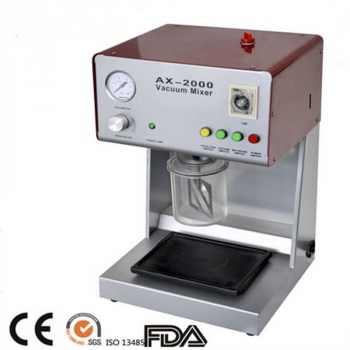 AX-2000B Dental Lab Vacuum Mixer Vacuum Mixing Machine