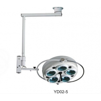 YD02-5 Ceiling-mounted Dental Cold Light Operating Lamp Medical Surgical Light