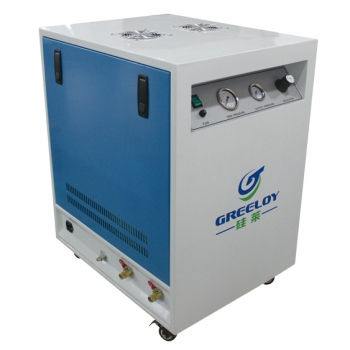 Greeloy® GA-61XY Oil Free Air Compressor With Drier and Silent Cabinet