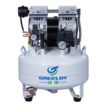 Greeloy® Oil Free Air Compressor GA-61X With Silent Cabinet