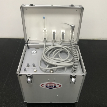 Best®BD-402A Portable Dental Turbine Unit with Air Compressor Suction System Fiber Optic