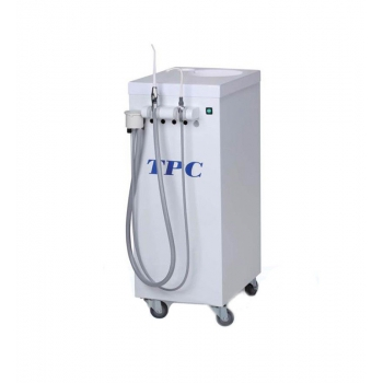 TPC Dental Mobile Suction Unit System with Vacuum Pump PC2530