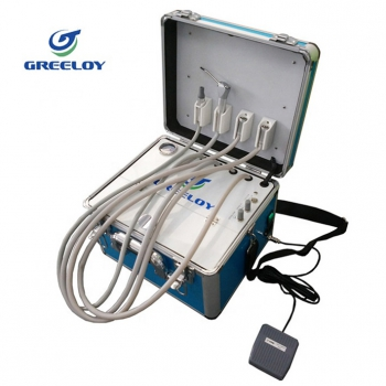 Greeloy GU-P 202 Mobile dental delivery system mini portable dental unit for veterinarian