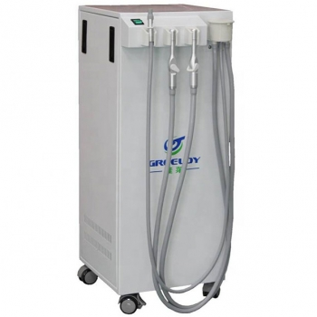 Portable Movable Dental Suction Unit Vacuum Pump 400L/min with Strong Suction