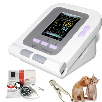 CONTEC08A-VET Digital Blood Pressure Monitor,Veterinary/Animal NIBP+SPO2 Probe