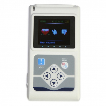 CONTEC TLC5000 12-Lead Holter ECG 24hour Monitor Sync Analysis PC Software