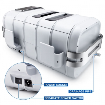 Codyson CD-4831 3L Dental Equipment Portable Digital Ultrasonic Cleaner