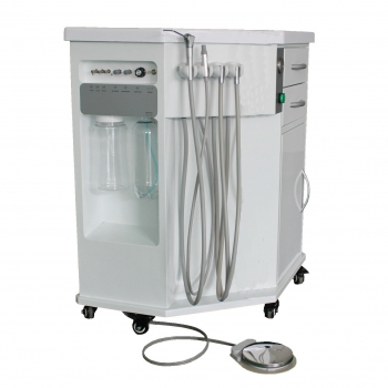 GREELOY®P211 Dental All in One Delivery System Cart Unit Dentistry Equipment Fiber Optic