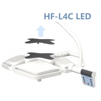 HFMED HF-L4W Led Dental Wall Hanging Surgical Operating Lights Shadowless Lamp
