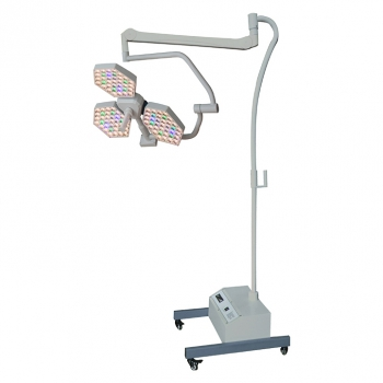 HFMED SY02-LED3E ACT Mobile LED Surgical Lights Dental Shadowless Lamp with Batt...