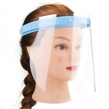 Safety Face Shield w/ Clear Flip-up Visor Dental Medical (1 Frame+10 Visors)