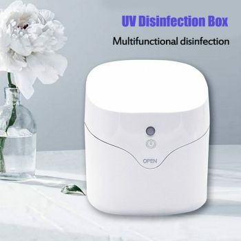 Portable UV Sterilizer 59s Fast Ultraviolet Light Disinfection Cabinet Home Box