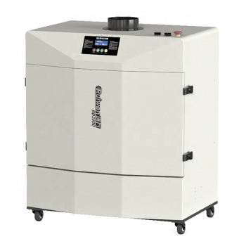 2200W Mobile Welding Fume Extractor for Reflow Soldering Acrylic Laser Cutting L...