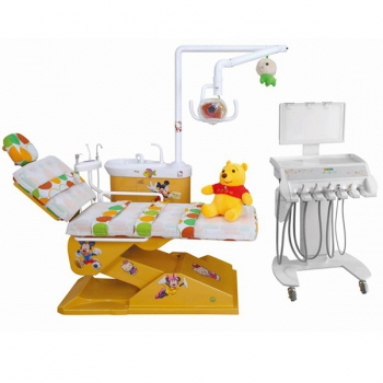 Lovely Pediatric Dental Chair Children Dental Chair Kids Electrical Dental Chair DTC-326