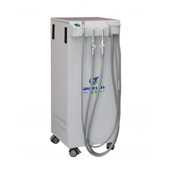350L/min Moible Dental Suction Unit Vacuum Pump with Strong Suction GREELOY GSM-300